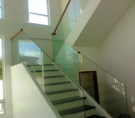 aleacin de aluminio barandilla pasamanos de escaleras interiores escaleras pasamanos