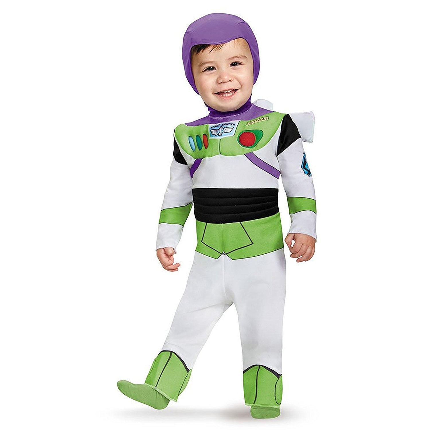 Disguise Costumes Buzz Lightyear Deluxe Costume (Infant), 6-12 Months