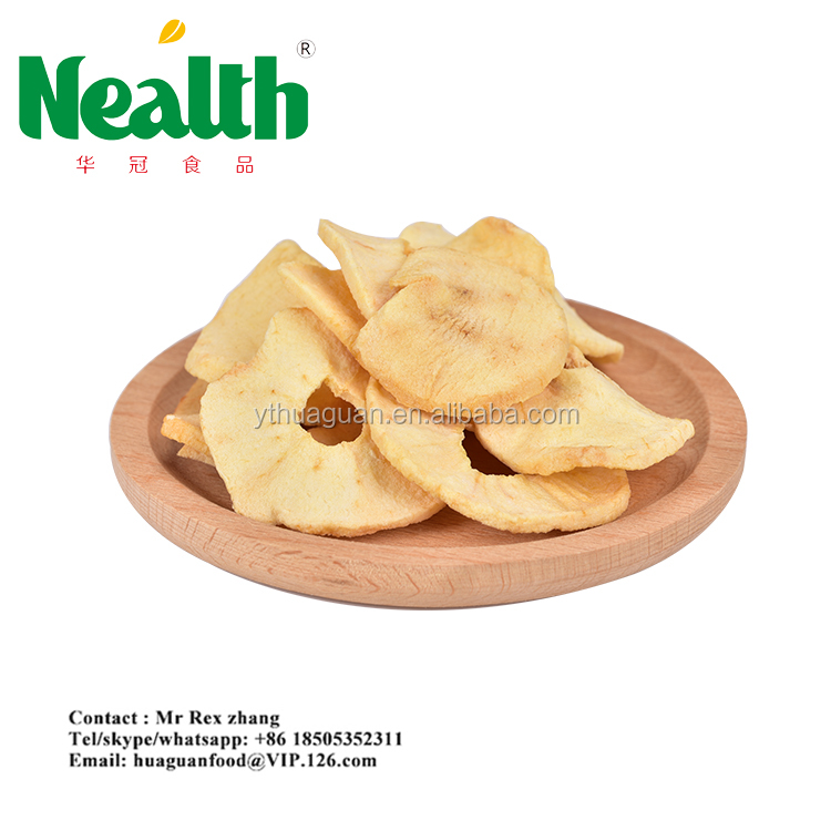 nutrition snacks bake apple chips