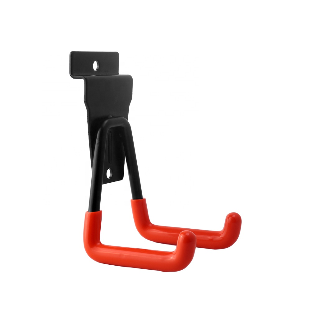 חם הנמכר כפול-paw צורת אופני אחסון וו מוסך ווים עם מגן דבק