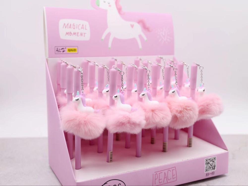 Cute Unicorn Kawaii Flamingo Pens Ballpoint Pens For Kids Girls Gift School Writing Supplies Korean Stationery