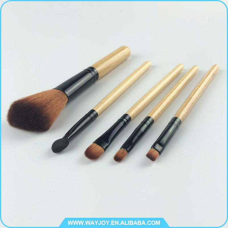 for individual buyer 2017 hot 5pcs makeup brush set