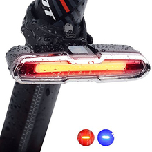 High quality USB rechargeable bike front light head rear tail flashlight LED bicycle light