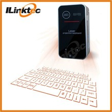 Popular Bluetooth Laser Virtual Keyboard QWERTY and Mouse for Android, Windows, IOS