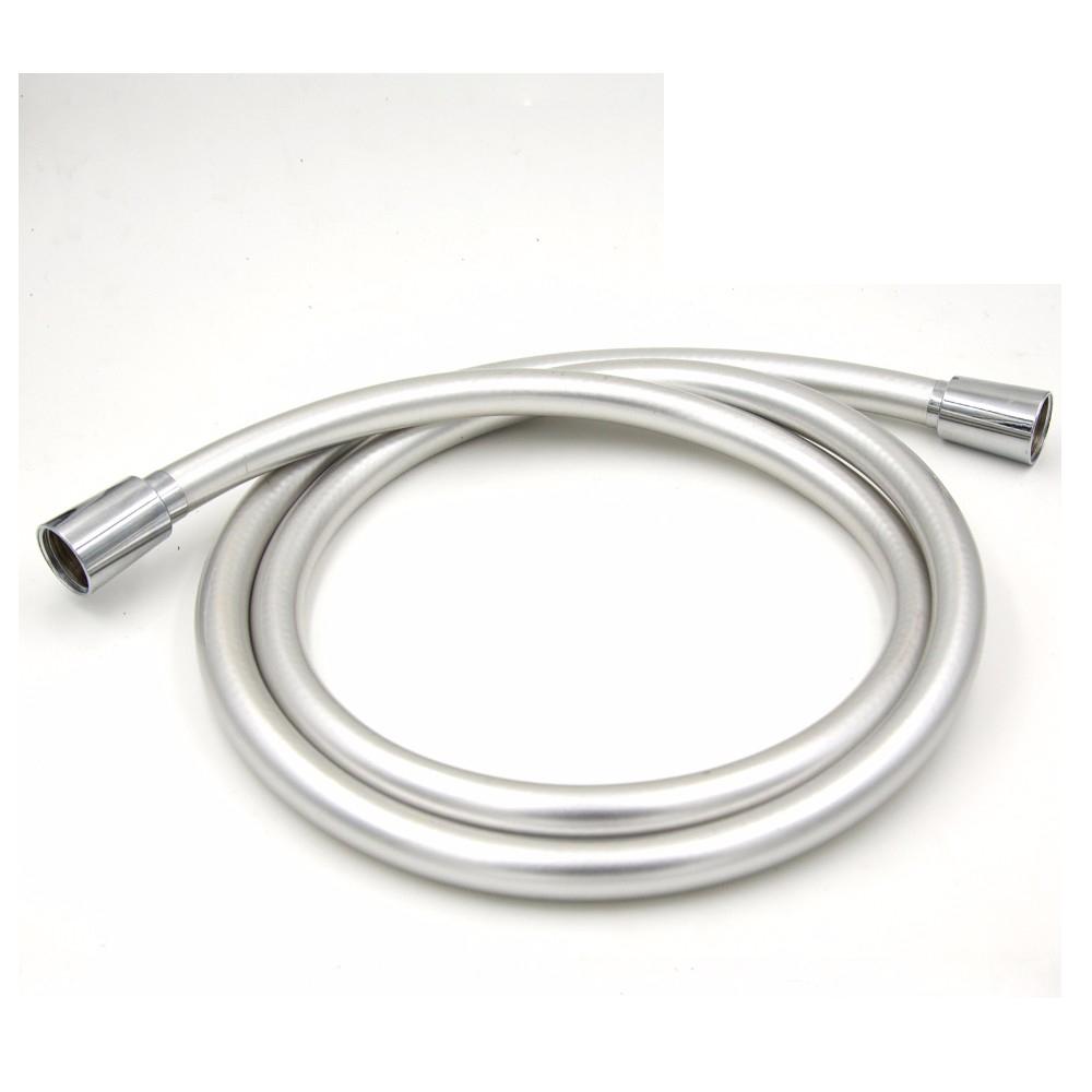 "20mm F1//2/"" G1//2/"" Thread 1.2M Length PVC Handheld Shower Hose Pipe White"