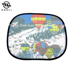 44*36cm polyester side window sunshade for cars