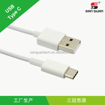 usb c type connector reversible usb c to usb 2.0 cable with 1 meter length