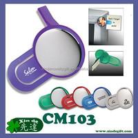 Specchio monitor del computer, Rear View mirror for computer monitor- computer monitor mirror with paper clip