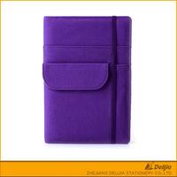 Bulk sale cheap purple colored book stationery business plan