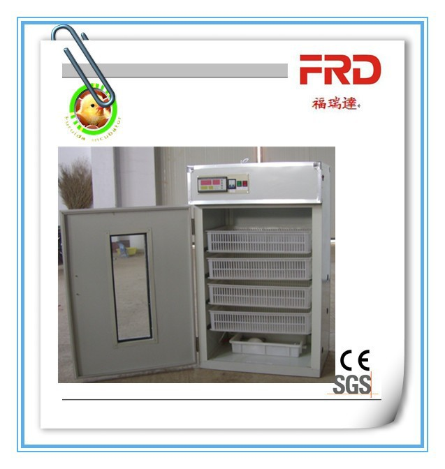 FRD-352 China manufacture High quality 88 egg tray with automatic turner motor poultry egg incubator