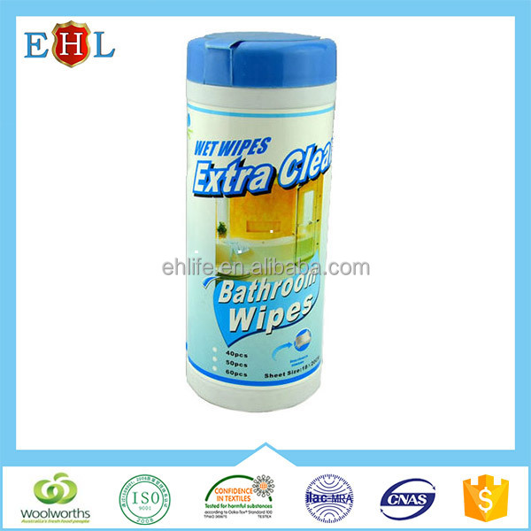 Antibacterial wet wipes/ wet wipes in canister for household cleaning