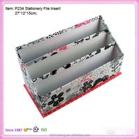 Wholesale desk organlizer desktop office file holder supplies stationery storage boxes