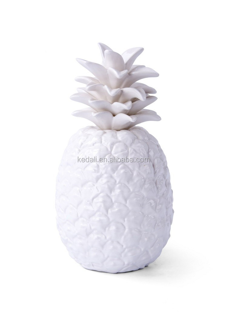 home decoration ceramic pineapple 2019