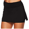 Cotton/polyester dry fit elastic womens golf mini skirt with inner shorts/falda for women