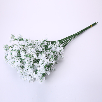 New style wholesale soft touch wedding decoration plastic babysbreath