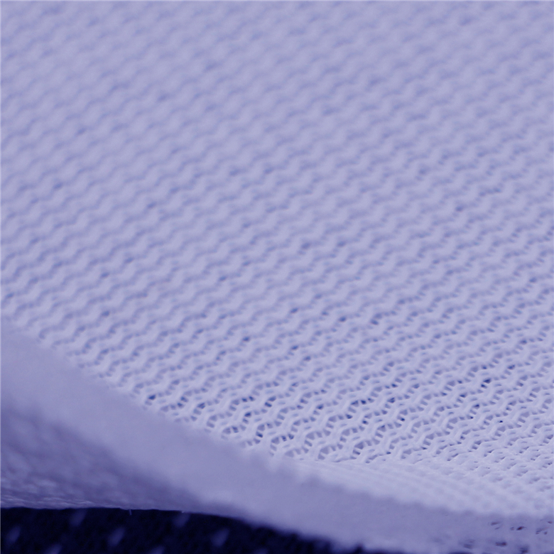 Online shopping 100% polyester medium thick sandwich mesh netting fabric