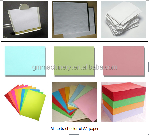 2880mm green environmental production A4 computer copy paper machine, office printing paper machine