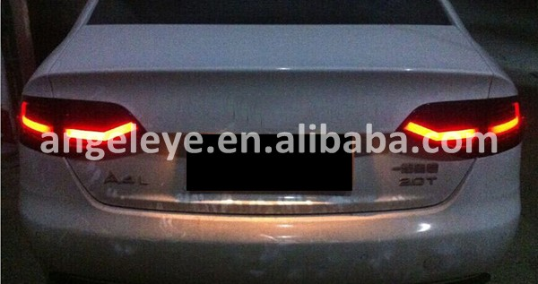 Rearlights For Audi A4 B8 Led Tail Light Rear Lamp For A4 B8 Dark