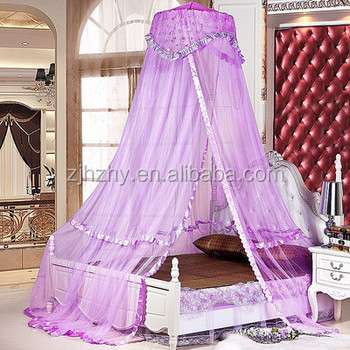 Purple Princess Mosquito Net Bed Canopy For Girls Bed - Buy Purple Princess  Mosquito Net Bed Canopy,Princess Mosquito Nets,Mosquito Net For Girls Bed  ...