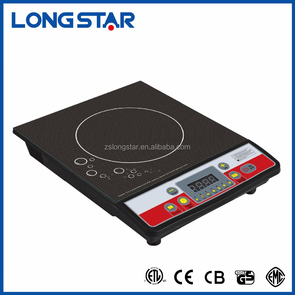 single burner 2000W low price portable electric induction cooker with CB CE