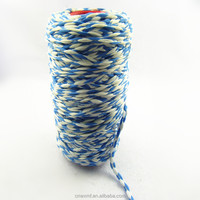 Multi colors polyester microfiber recycle blended mop yarn