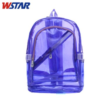 2cc72d6bfda8 Small Plastic Clear Pvc Backpack For Gifts Or Kids - Buy Transparent ...