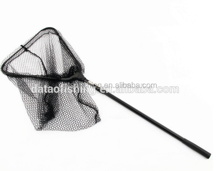 Australia 2 sections telescopic folding fish landing net