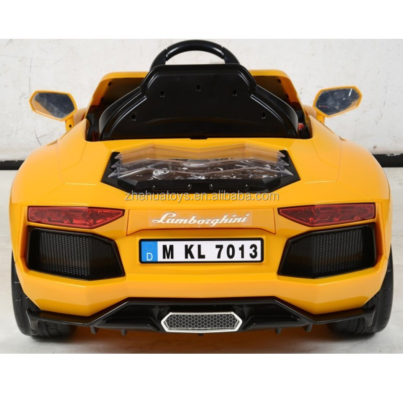 newest 6volt licesned baby car electric car toy ride on lamborghini toy car for kids