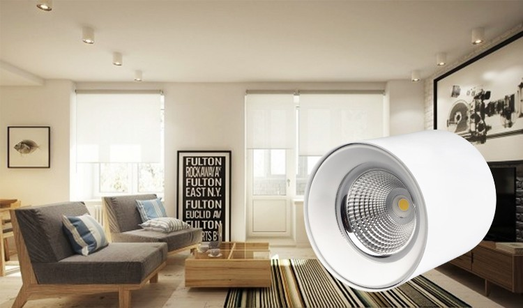Good Price Dimmable Surface Mounted Round Led Downlights