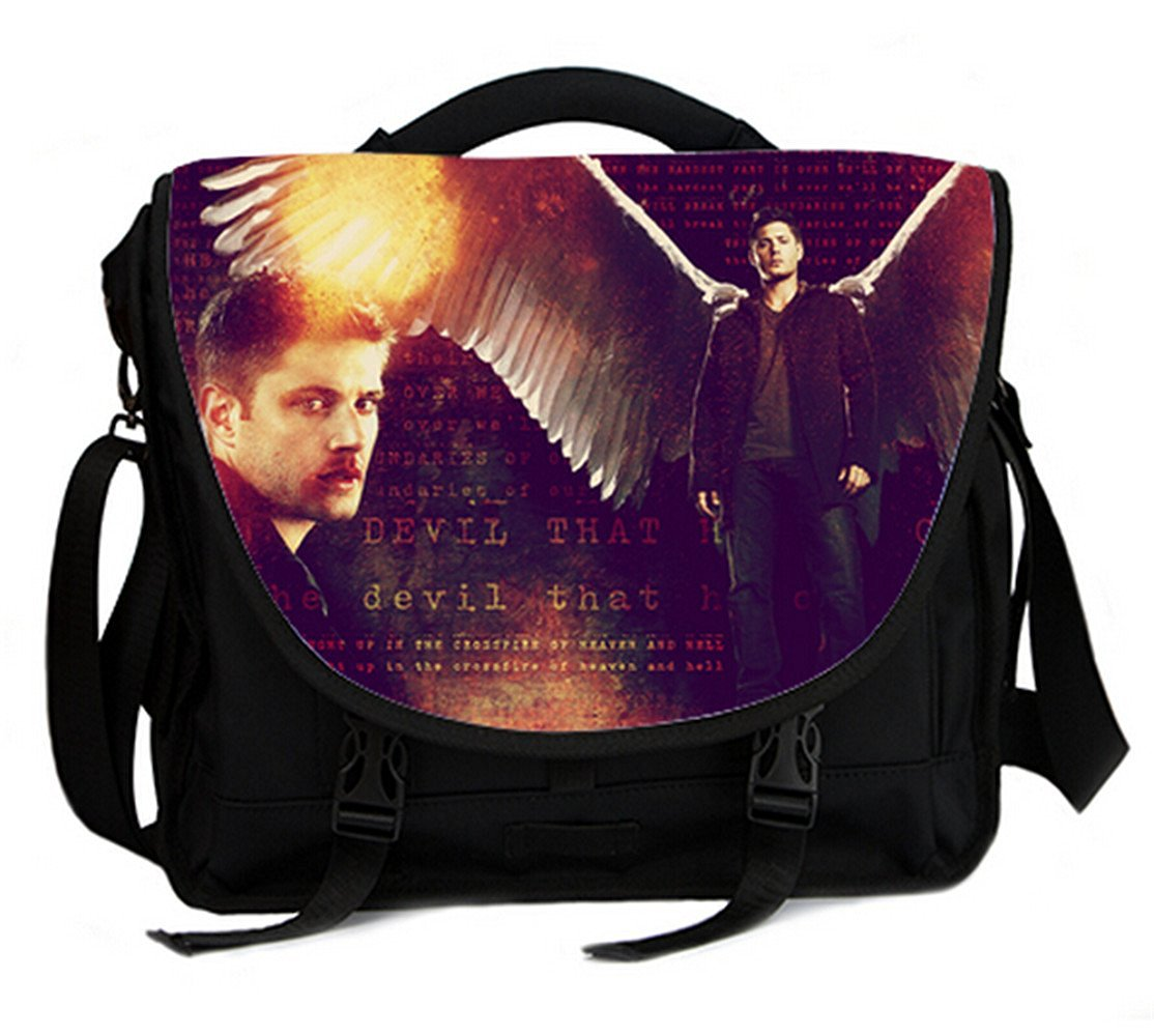 ce54a79cd9f29f Shoulder Cross Body Bag For 15 Inch Laptop Notebook With Dean Winchester  Print