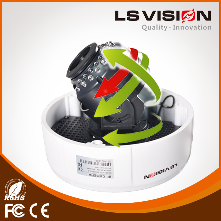 LS VISION ip camera 3 megapixel Support mobile phone monitoring camera good price and best sell camera