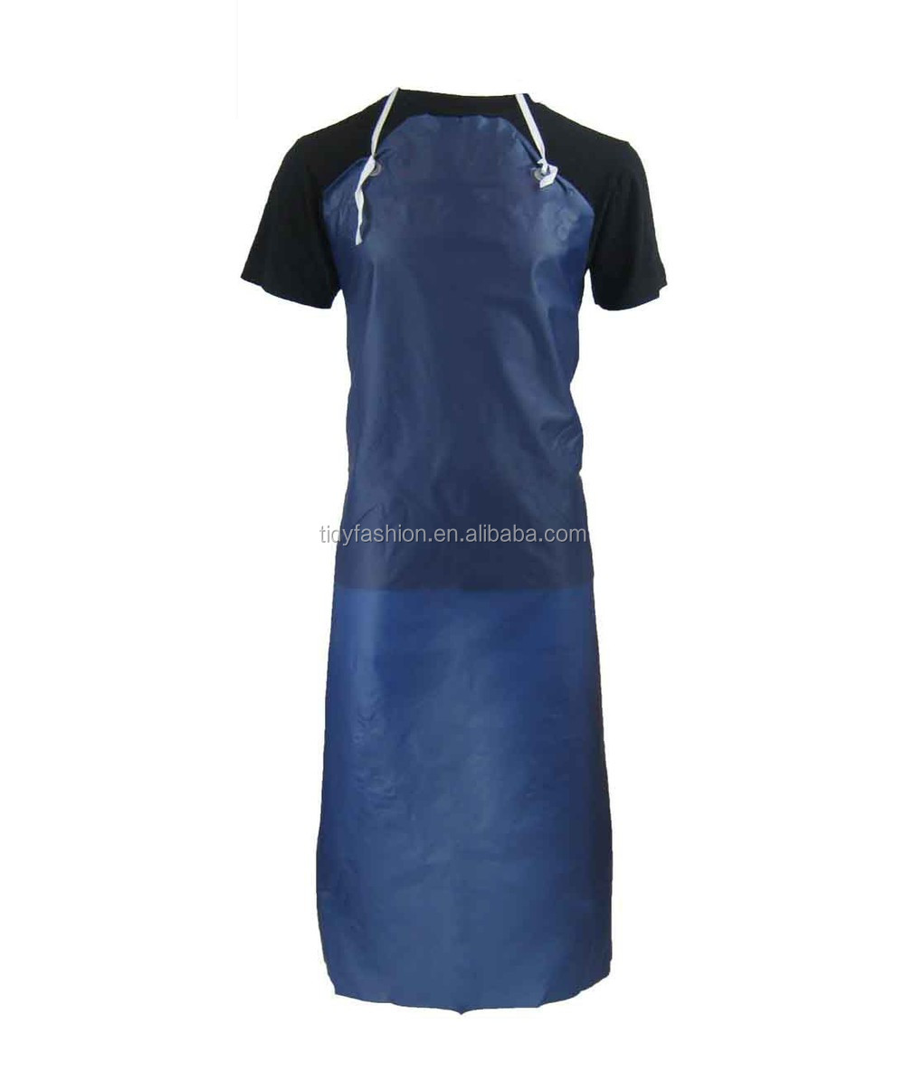 Cheap Plastic Kitchen Apron For Adults