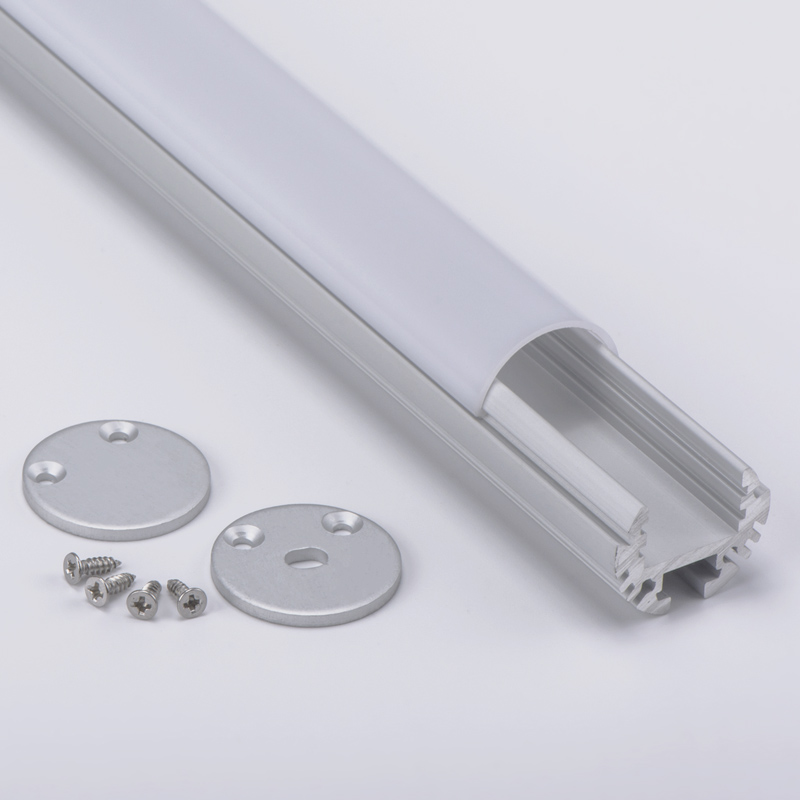 Soft bendable profile <strong>aluminium</strong> led round for aquarium light
