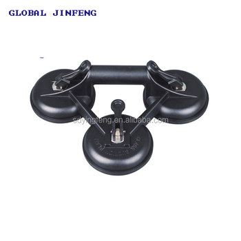 JFK010 3 Cups Vacuum glass suction lifter, glass suction cup