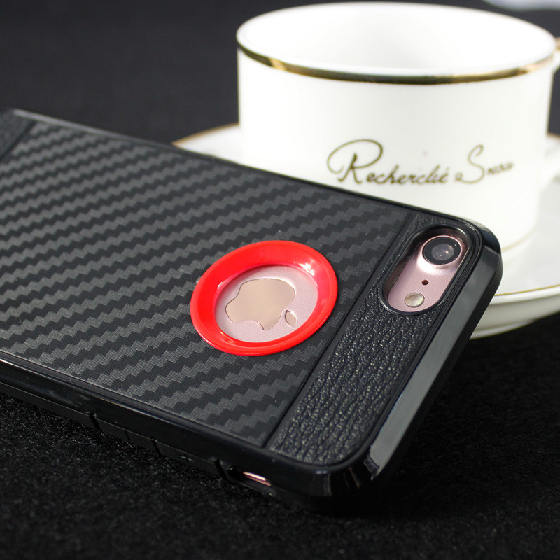New Products 2017 Innovative Product Durable Carbon Fiber Phone Case For iPhone7 iPhone 7 Plus