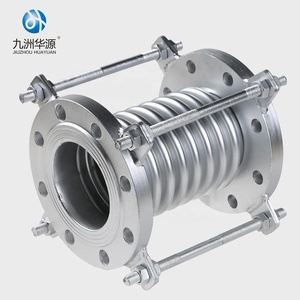 HuaYuan plumbing materials Stainless steel Flexible Rubber Joint tube galvanized pipe Fitting
