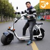 2017 Citycoco electric Harley style Adult SEEV Electric Scooter 2 Wheels Electric motorcycle