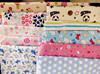 new heart design print cvc flannel fabric for baby