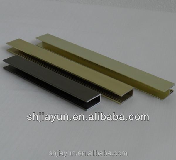 Muebles de aluminio perfil de borde para reposteria con superficie ...