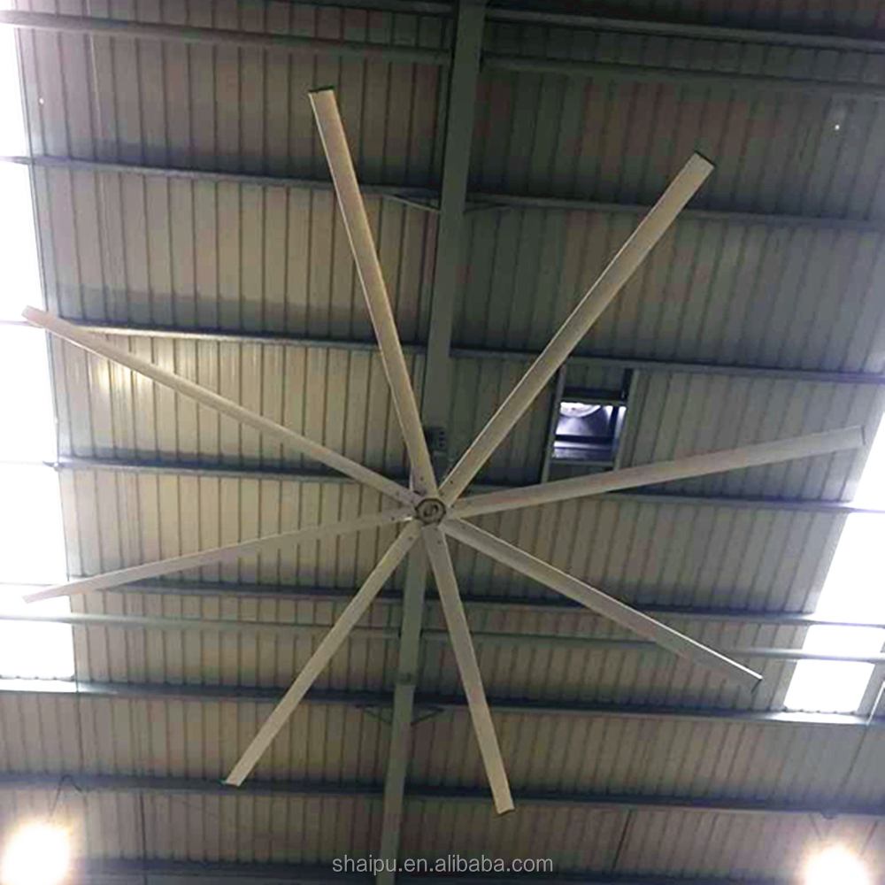 Large Ceiling Fan Malaysia: 6.1m Industrial Large Commercial Ceiling Fan