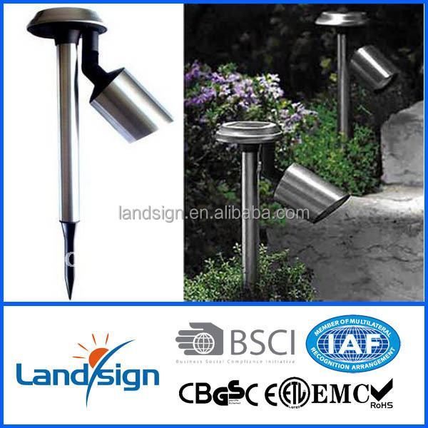 2016 Outdoor Garden Walkway Led Solar Spot Light