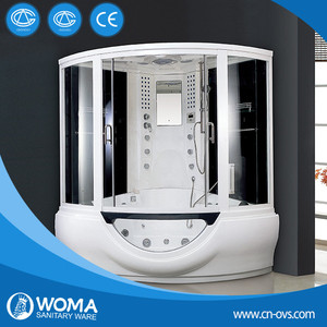 2016 chinese factory Glass Steam Shower room wtih Computer control panel