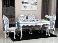 European Style 4 Seater Dining Table