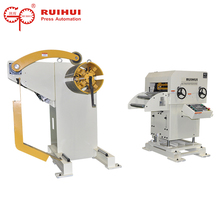 2 in1 manual uncoiler feeder machine line for metal process line