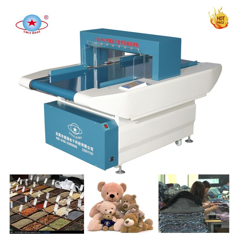 Microcomputer needle detector machine for the rubber shoes