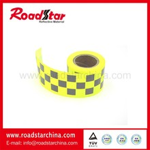 High Reflectivity used on cloth reflective warning tape