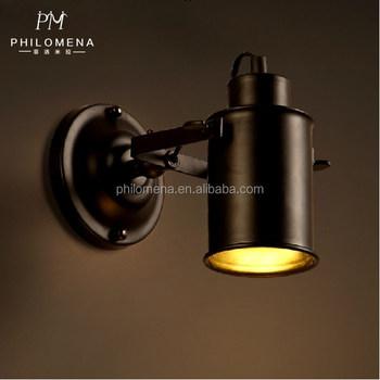 Industriale Coperta Usate Nero Decorativo Bar Coffee Led Spot