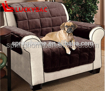 Recliner Quilted Waterproof Fitted Leather Stretch Sofa