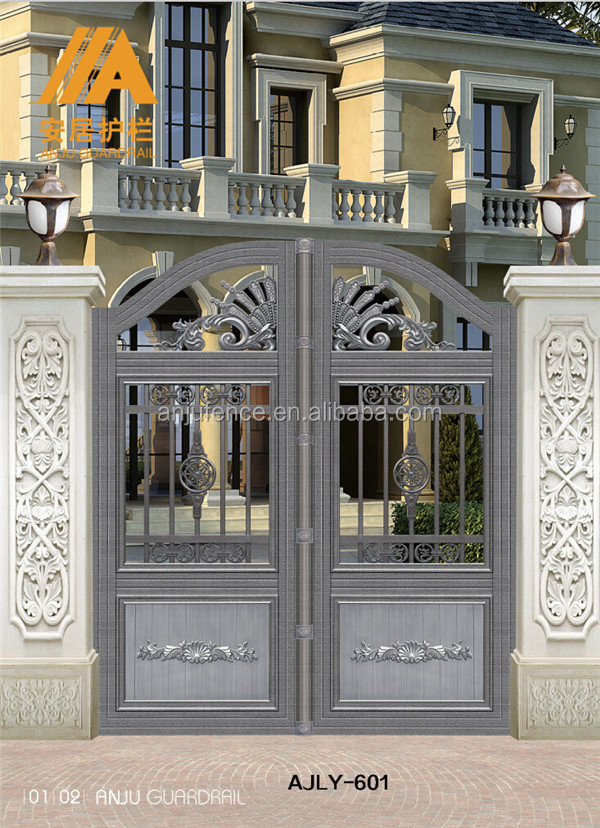Ajly603 Simple Outdoor Gate Design With Iso 9001 Buy Gate
