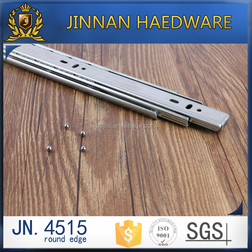 round edge China supplier telescopic slides kitchen heavy duty drawer runner